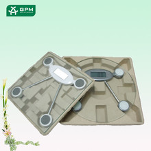 Custom Recyclable Material Molded Pulp Electronics Packaging Design Tray
