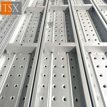 Steel Scaffolding Plank With Clamp
