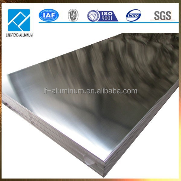 5754 Aluminum Plate/Sheet Alloy ALMG3 of Size 4ft x 8ft