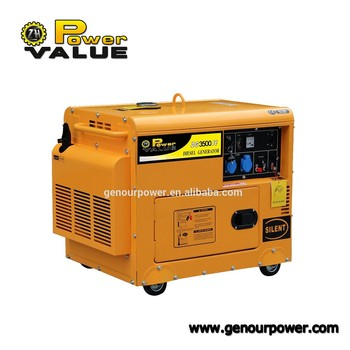 Power Value CHINA TaiZhou Avr Type Diesel Generator Fuel Consumption 2kw Generator Silent Block