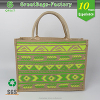 Waterproof Shopping Cheap Customised jute shopper