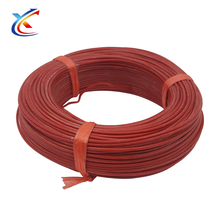 Simple 16awg coated cable glass fiber mesh Silicone Rubber Wire