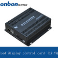 BX-YQ4C multi-media player led display 7 segment led full color control card