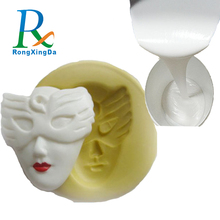 Silicone rubber for gypsum poly resin PU unsaturated resin molds making