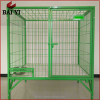 Chinese Wholesale Customized Heavy Duty Stainless Steel Dog Crates