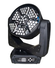 Beautiful in color 63 * 3w led light zoom wash rgb unlimited rotation moving head