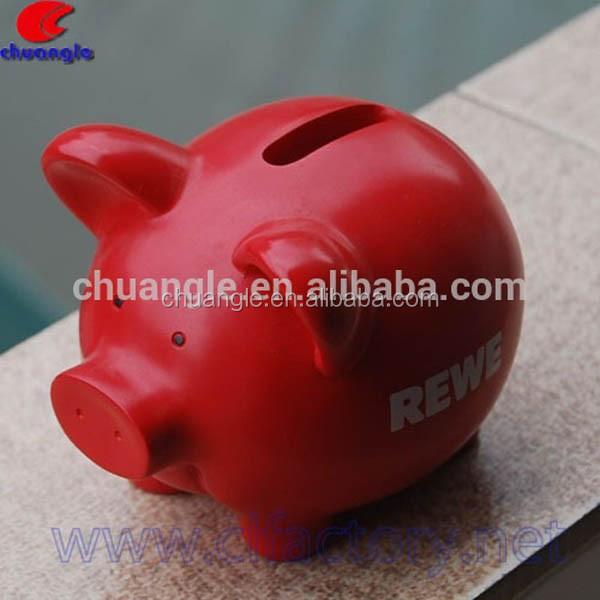 Resin Pig Resin Piggy Bank Polyresin Pig Figure Decor
