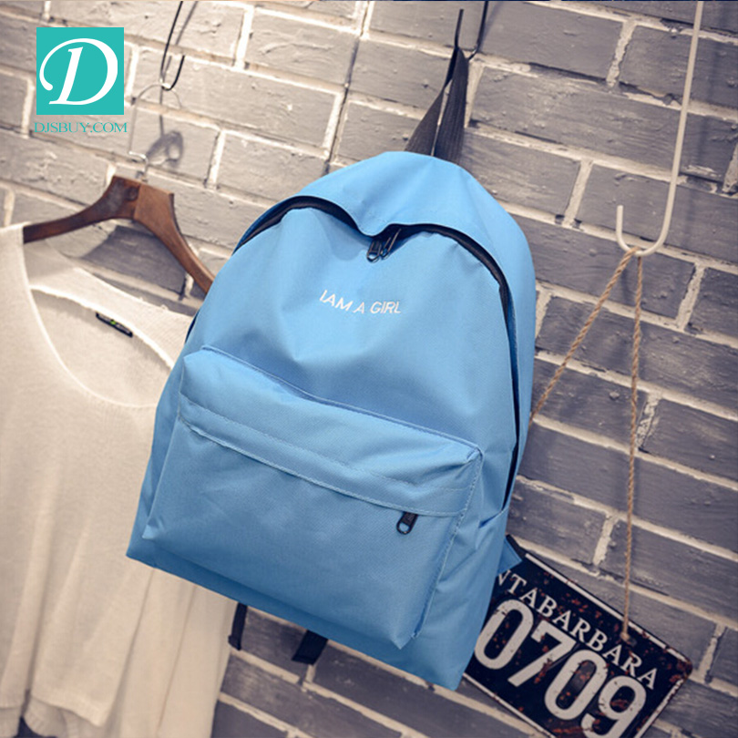 Best Selling Simple Stylish Korean Casual Lady Backpack School Shoulder Bag