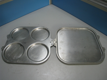 stainless steel cake moulds steel baking sheet Heart-shaped cake mold