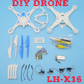 LH-X16 best selling toy rc helicoptero remote control drone diy rc quadcopter ufo rtf