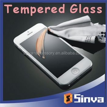 Sinva factory 9H 0.2MM 0.33MM privacy tempered glass screen protector for iphone 6
