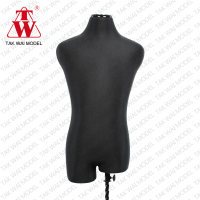 Cheap male half body fiberglass for display mannequins