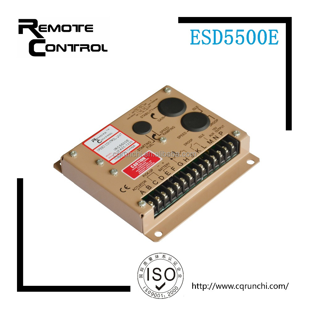 Diesel engine automatic speed controller ESD5500E governor