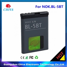 3.7V mobile phone battery for Nokia bl5bt battery