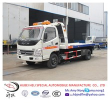 4ton Foton towing wrecker truck for sale