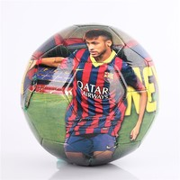 Free sample 2016 high quality 6 feet world map soccer ball