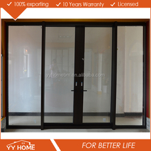 commercial tempered double glass germany sliding door