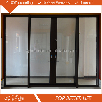 Commercial tempered double glass germany sliding door for Sliding glass doors germany