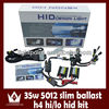 12v 35W 5012 HID Slim Ballast H4 S9 Bixenon Hi Lo Beam HID Xenon Headlight Assembly