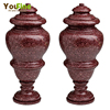Home Garden Decoration Antique Red Marble
