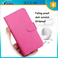 VCASE High quality Low price leather pu wholesale cover for samsung i8530 galaxy beam