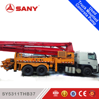 SANY SY5311THB37 2003 Year 37m Used Concrete Truck Pump Sale