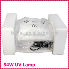 54W UV Lamp Nail dryer for Double Hands or Feet With Fan and Timer