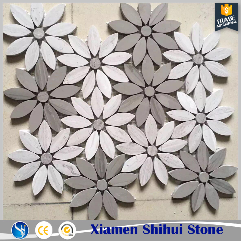 Unique Design Home Decoration Mosaic Flowers for Wall
