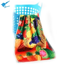 Big discount wholesale printed floral tea kitchen towel with best price