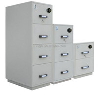 2 Hrs FIREPROOF CABINET, VERTICAL METAL DATA CABINET, DRAWERS STEEL FILING SAFES.