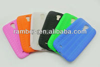 For Samsung I9500 Galaxy S4 Thread Tyre Line Soft Back Cover Silicon Rubber case