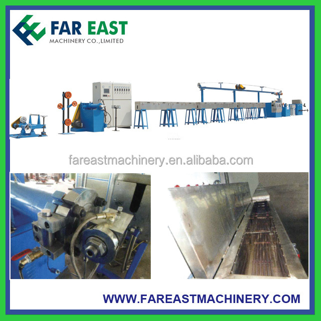 Silicon Rubber Cable Extrusion Production Line