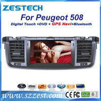 ZESTECH Car Auto Multimedia DVD Player auto dvd for peugeot 508 with radio gps