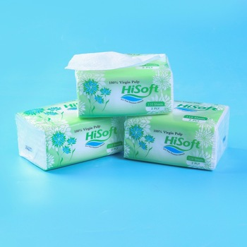 2ply Unbleached sofy pack Virgin Pulp Pop Up  Facial Tissue