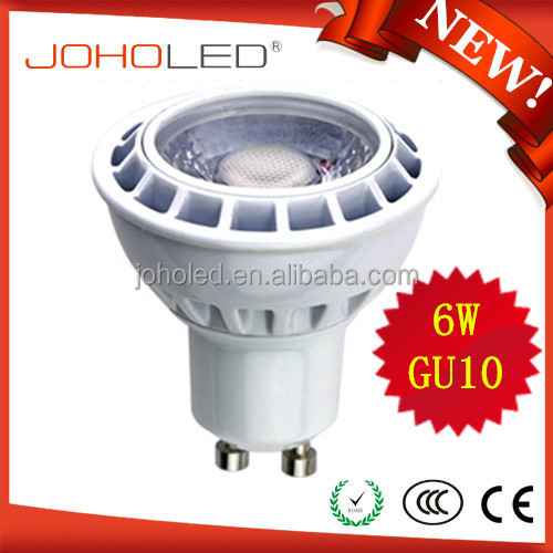 China Best 2700k 3000k 4000k 60 120 Degree 110 220 Volt Dimmable 5w 6w Gu5.3 Mr16 Gu10 Led Spot Light Bulb Lamp