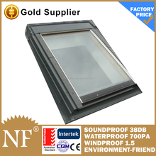 aluminum sunny room with skyview roof window