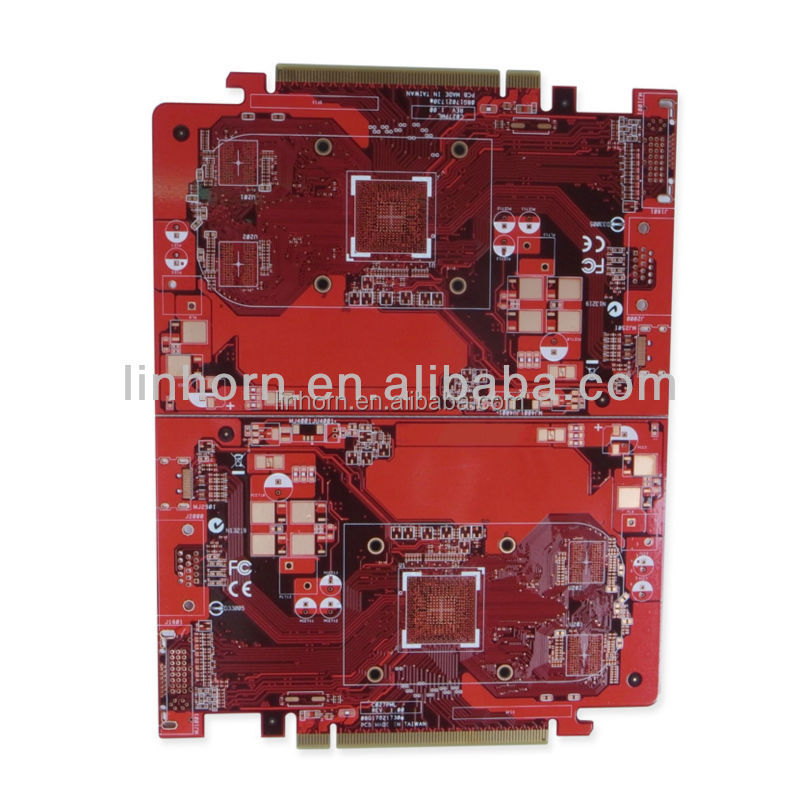 6 Layer lenovo motherboard pcb v-cut machine