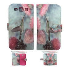 beautiful butterfly Style Leather Case For Samsung Galaxy S3 i9300