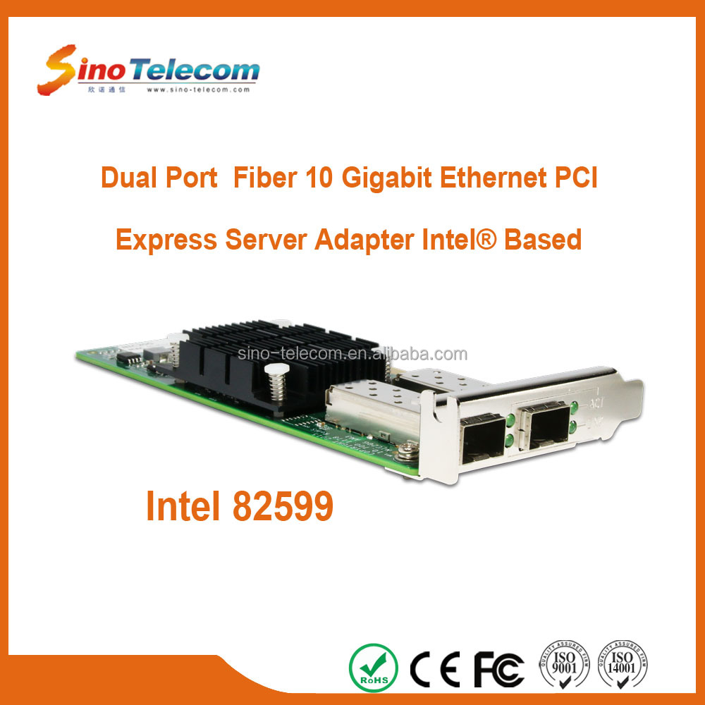 Sino-Telecom Dual-Port Fiber PCI SFP+ 10G Network Card