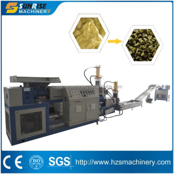 Woven Bags Recycling Pelletizing Machine