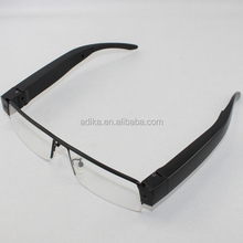 New Arrival Glasses Camera HD Camera Eyewear Video Mini DV DVR invisible lens glasses camera
