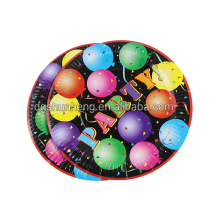 Manufacturer custom round party color paper card for ballon