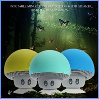 2016 shenzhen portable wireless music mini mushroom bluetooth speakers hands free waterproof bluetooth speaker for bus driver