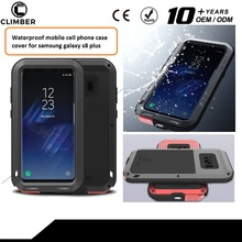 Waterproof mobile cell phone case cover for samsung galaxy s8 plus