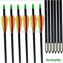 Archery Products Targets Practice Steel Point Archery Fiberglass Bow Arrows with for Hunting Compound Bow