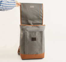 Canvas Genuine Leather Backpack For Men Since 1997