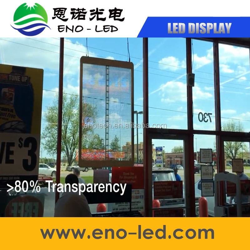 transparent led strip p10 led display controller card soft led screen