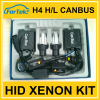 Fast bright car hid head lamp h4 high/low canbus hid xenon kit