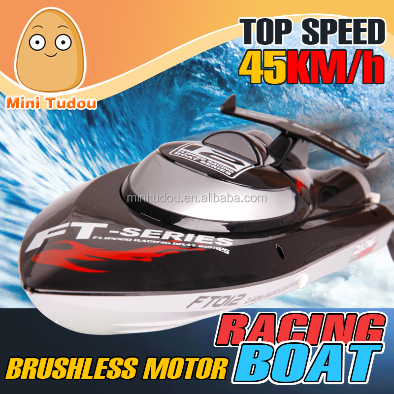 2.4G Brushless R/C Racing Boat 45km/H 2016 hot sale rc toys for sale FT012