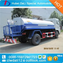 Good quality water tank truck for sale,Dongfeng 153 stainless steel water tank truck sale